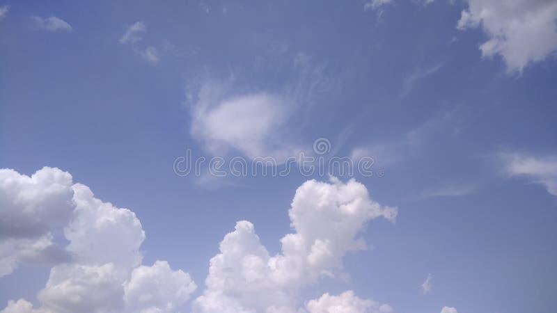 Cielo nublado oscuro fotos de archivo libres de regalías