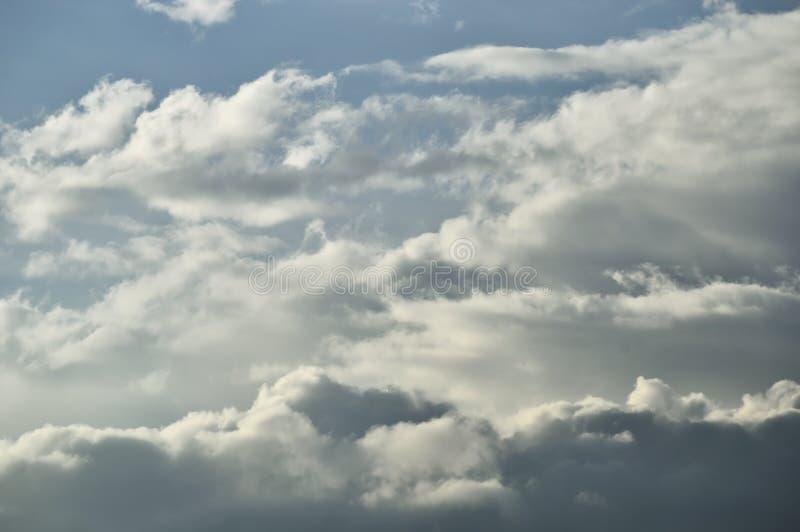 Cielo nuvoloso fotografie stock libere da diritti
