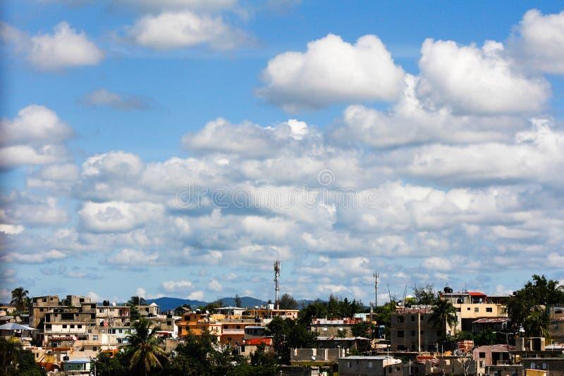 Cielo nuvoloso uno fotografia stock libera da diritti