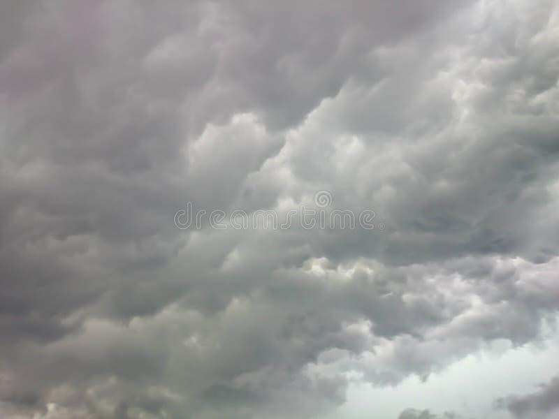 Cielo oscuro de la nube fotos de archivo libres de regalías