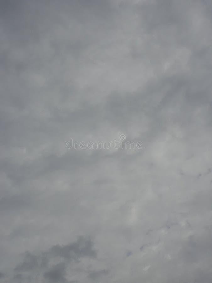 Cielo oscuro nublado imágenes de archivo libres de regalías