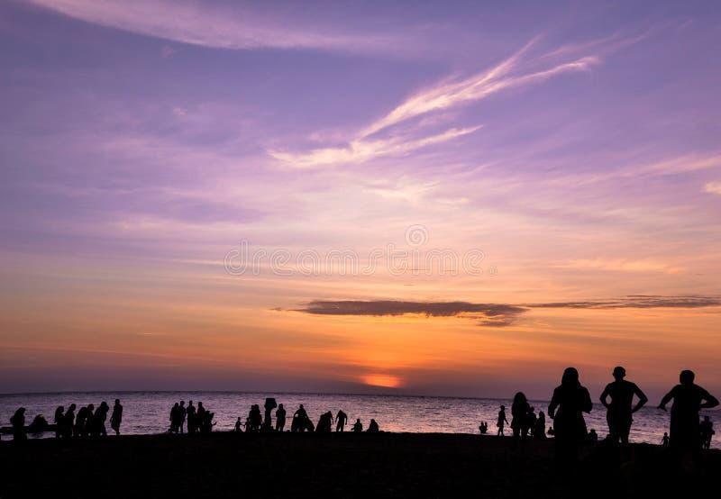 Cielo púrpura imágenes de archivo libres de regalías