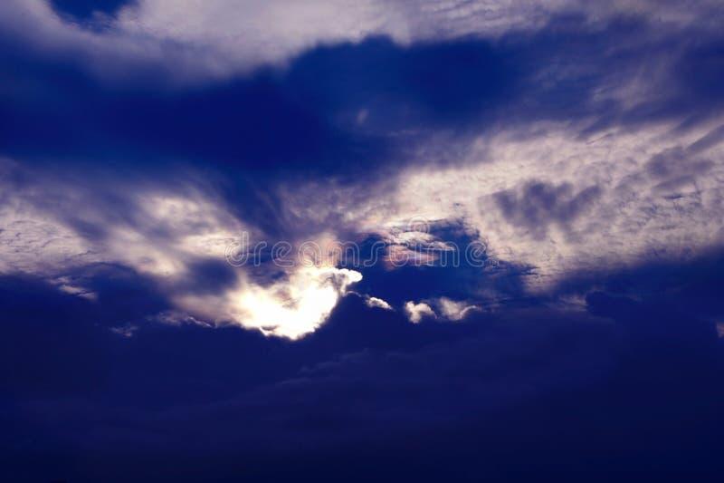 Cielo piacevole immagini stock