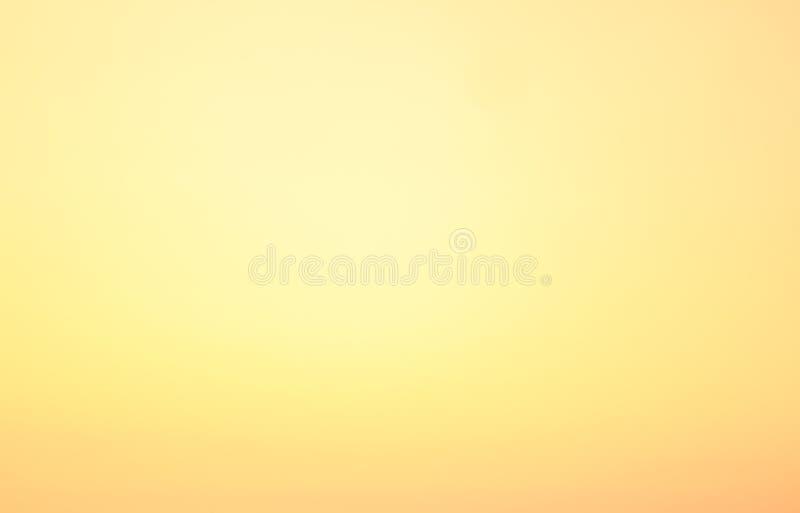 Cielo puro de la puesta del sol fotos de archivo