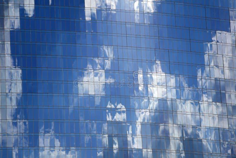 Cielo reflejado fotos de archivo