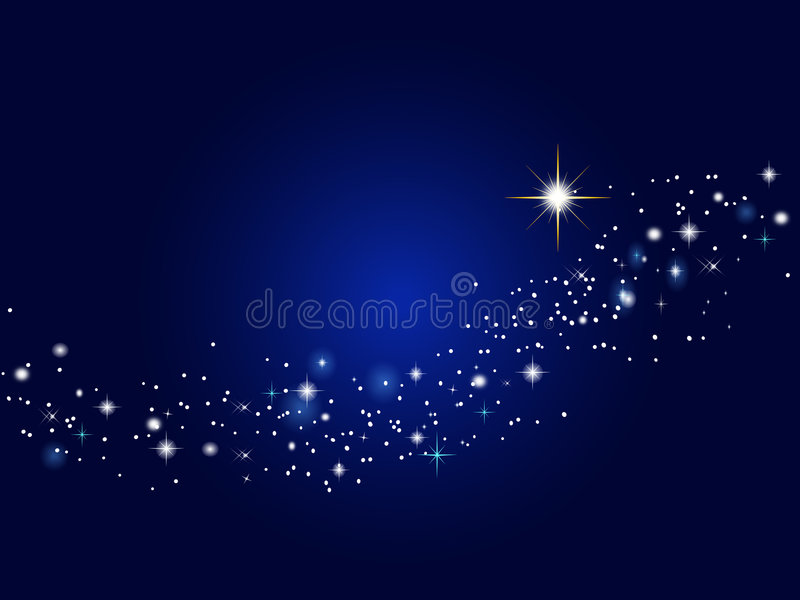 Cielo stellato royalty illustrazione gratis