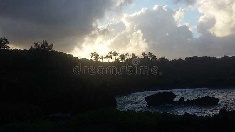 Cielo su terra fotografie stock libere da diritti
