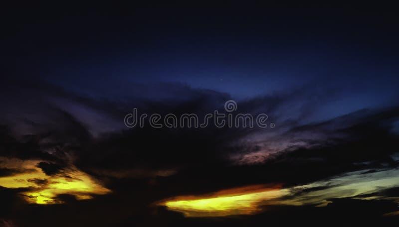 Cielo in Tailandia fotografie stock