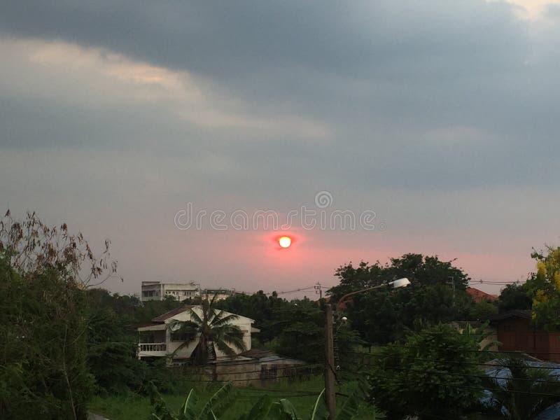 cielo Tailandia fotografia stock