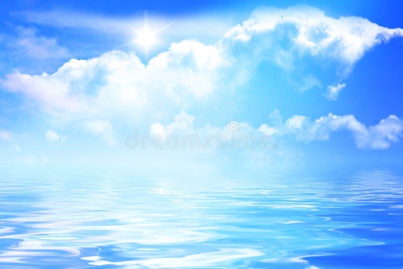 Download Cielo y agua foto de archivo. Imagen de frescura, cielo - 7283264