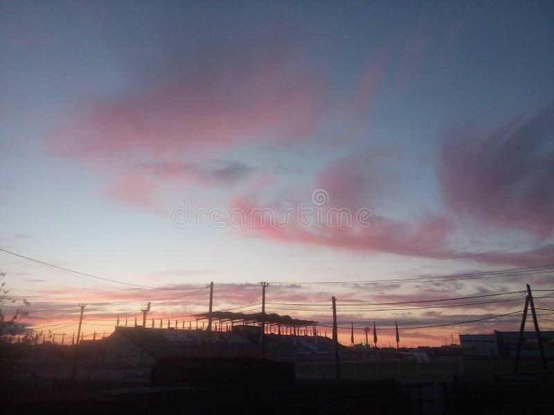 Cielo y nube foto de archivo