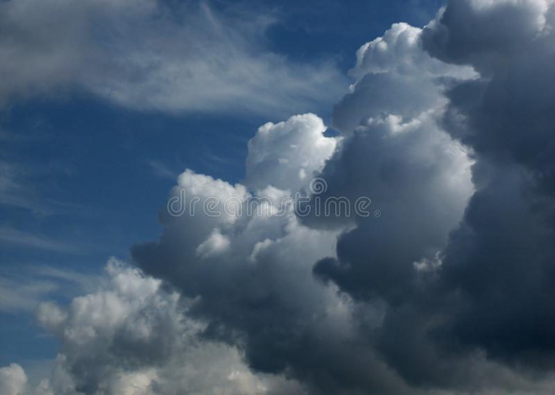 Cielo y nubes 7 imágenes de archivo libres de regalías