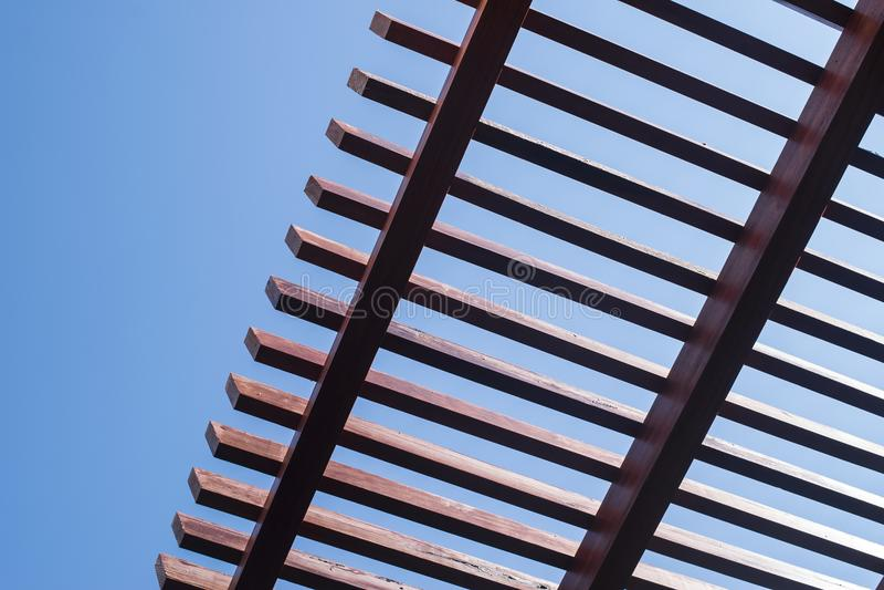 Cielo y tejado imagen de archivo libre de regalías
