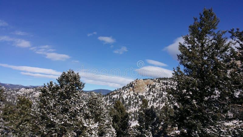 Cielos de Colorado fotografía de archivo