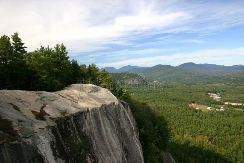 Cielos de New Hampshire foto de archivo