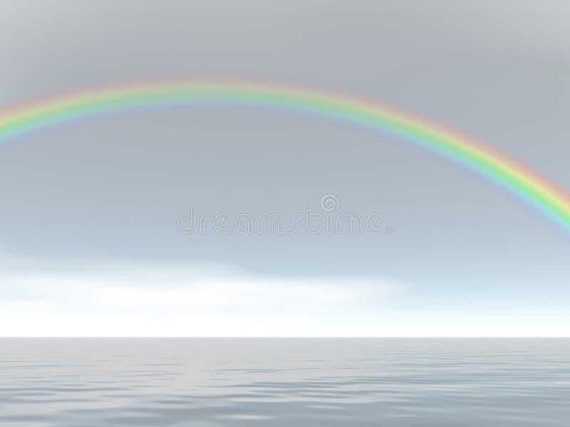 Cielos del arco iris libre illustration