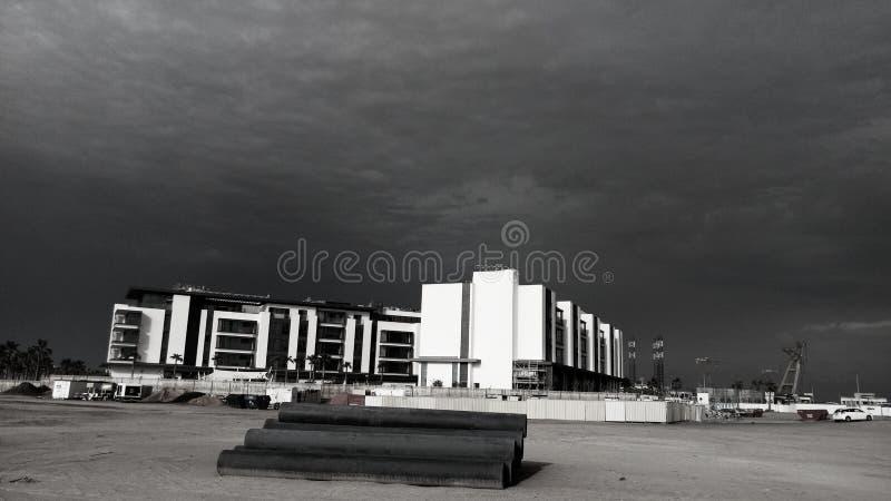 Cielos oscuros imagen de archivo