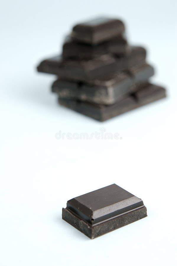 ciemna czekolada obraz royalty free