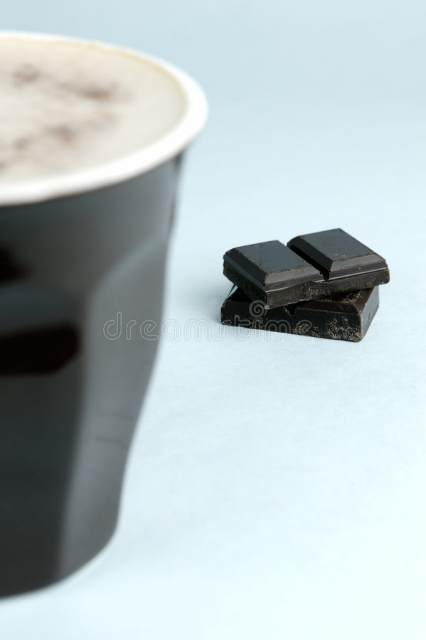 ciemna czekolada zdjęcie royalty free