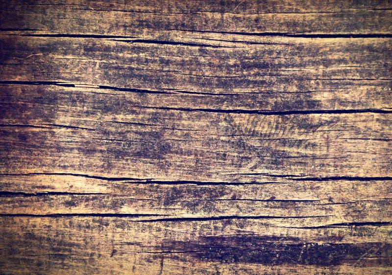 Ciemna drewniana deska fotografia stock