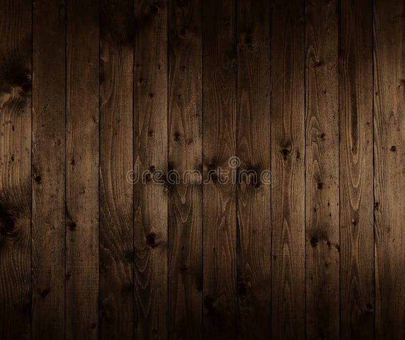 Ciemna drewniana deska dla tła lub tekstury zdjęcia stock