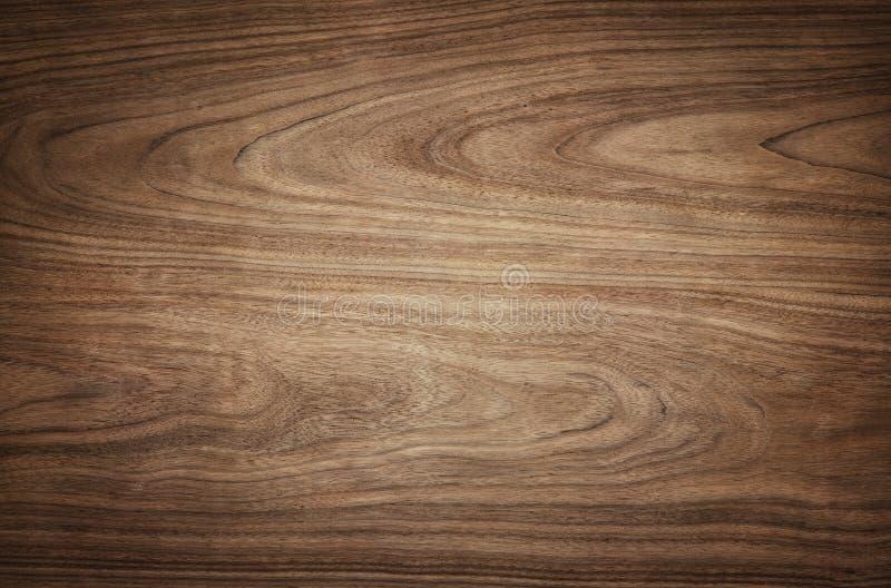 Ciemna drewniana tekstury tła powierzchnia z naturalnym wzorem obraz royalty free