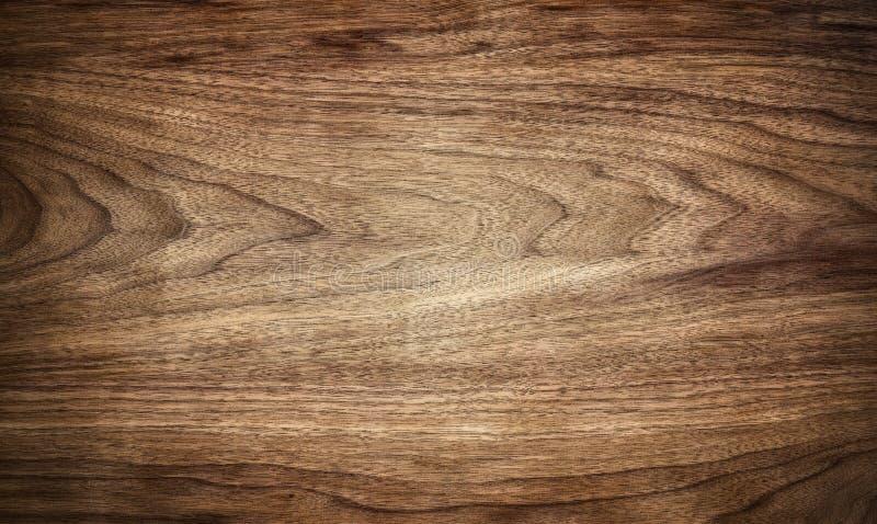 Ciemna drewniana tekstury tła powierzchnia z starym naturalnym wzorem zdjęcie stock