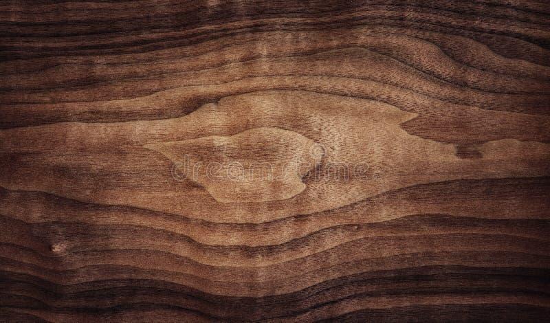 Ciemna drewniana tekstury tła powierzchnia z wzorem zdjęcie stock
