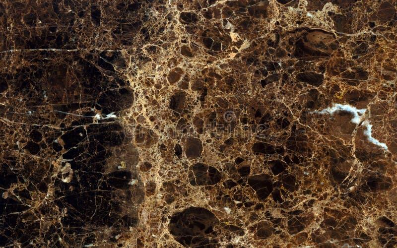Ciemna Emperador marmuru powierzchnia zdjęcia stock