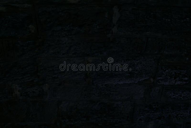 Ciemna kamienna ściana 1 obraz royalty free