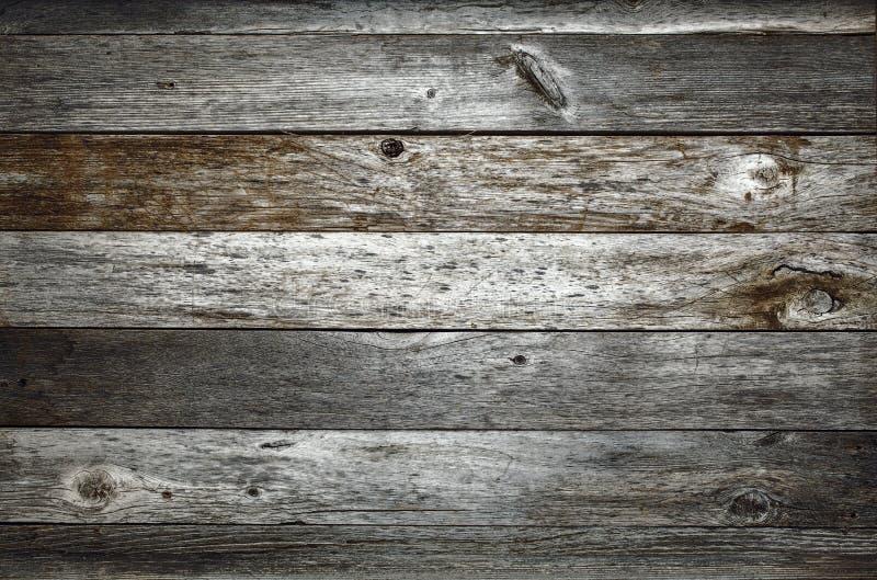 Ciemna nieociosana stajni drewna tekstura obraz stock