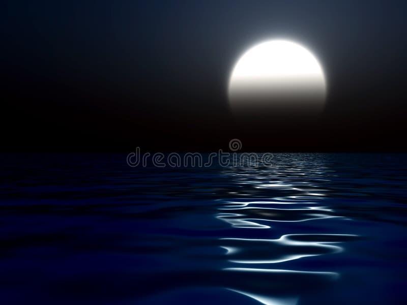 ciemna noc royalty ilustracja