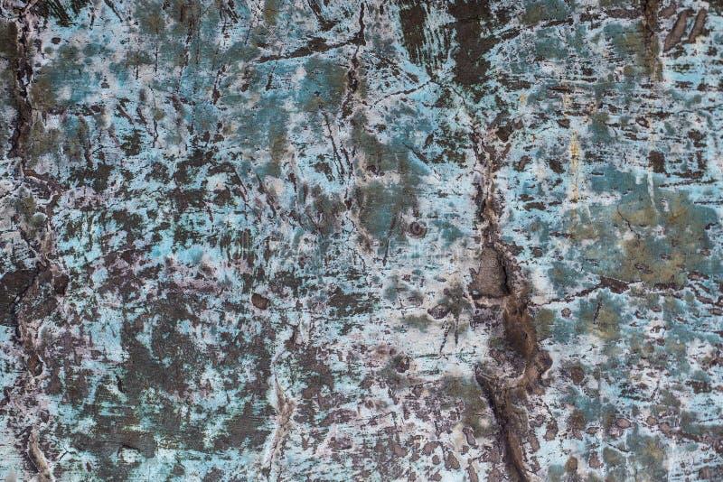 Ciemna ośniedziała metal tekstura Rocznika skutek fotografia royalty free