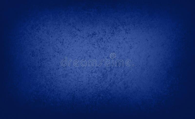 Ciemna szafirowa błękitna tło tekstura royalty ilustracja