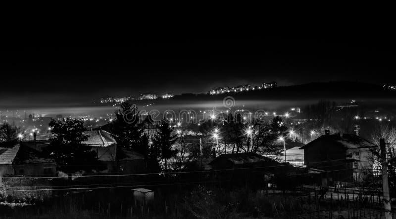 Ciemna wioska obraz stock