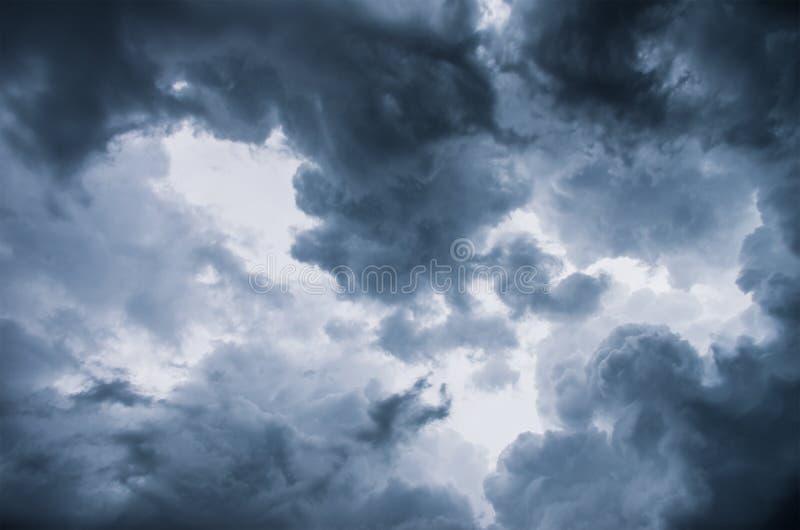 Burz chmury zdjęcia royalty free