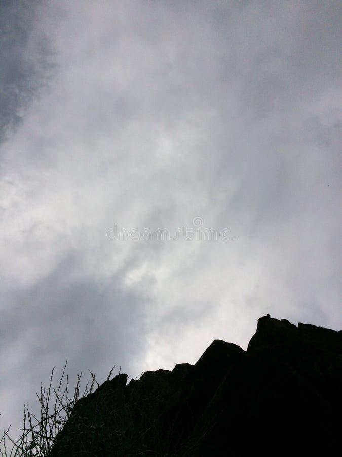 ciemne niebo zdjęcia stock