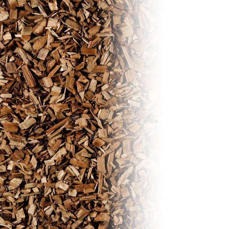 Ciemnego brązu drewniani układy scaleni tworzą abstrakcjonistyczną szorstką tekstury tła powierzchnię obrazy stock