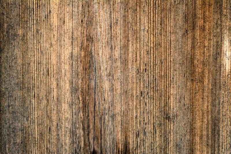 Ciemnego brązu porysowana drewniana tnąca deska Drewniana tekstura zdjęcie royalty free
