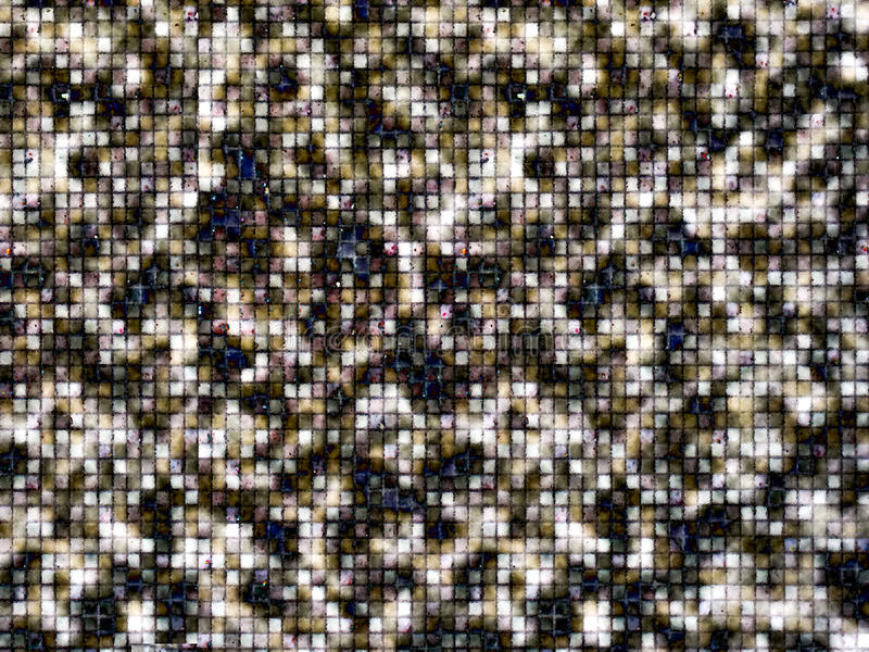 ciemnego brązu szara mozaika mała crytallize obraz royalty free