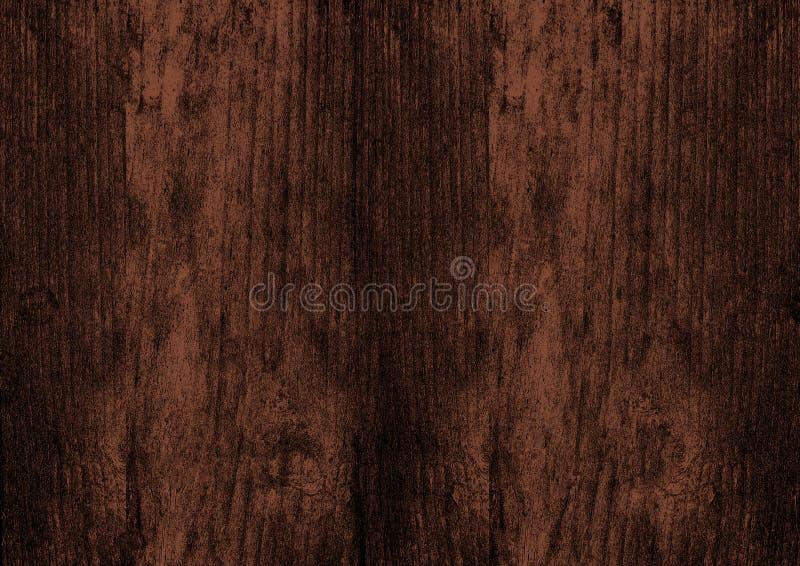Ciemnego brązu tekstury tła ściany drewniany tło zdjęcie royalty free
