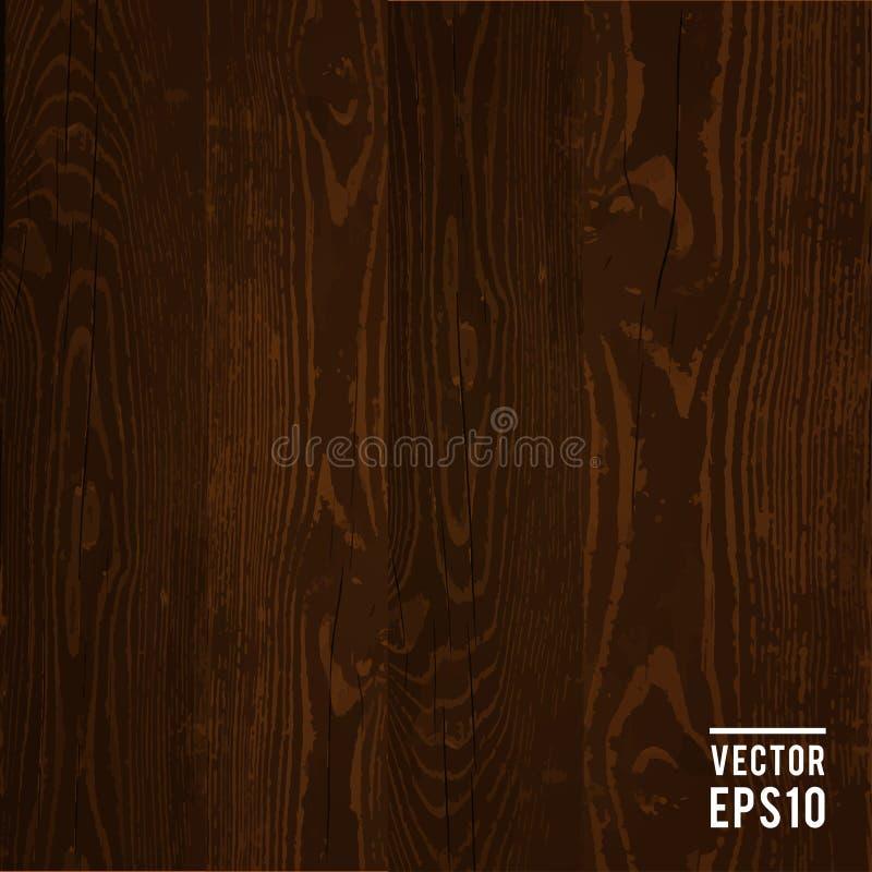 Download Ciemnego Brązu Wektorowy Drewniany Tło Ilustracja Wektor - Ilustracja złożonej z charcica, tło: 57664858