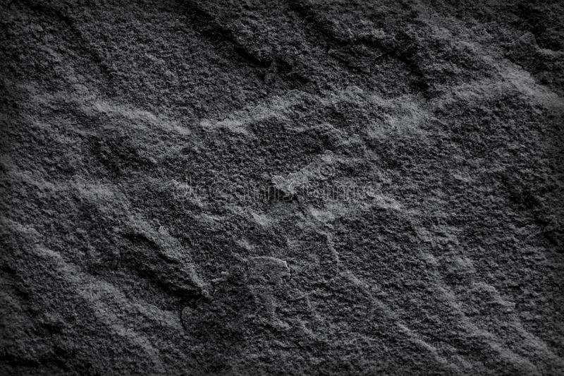 Ciemnego czerni łupku tekstura lub natur stare szarość drylujemy abstrakcjonistycznego tło zdjęcie royalty free