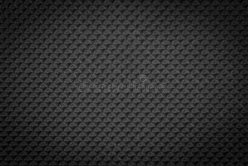 Ciemnego czerni miarowa plastikowa tekstura zdjęcie stock
