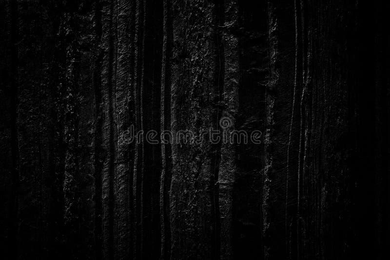 Ciemnego czerni textured abstrakcjonistyczny obraz ręka płótna tło obrazy royalty free