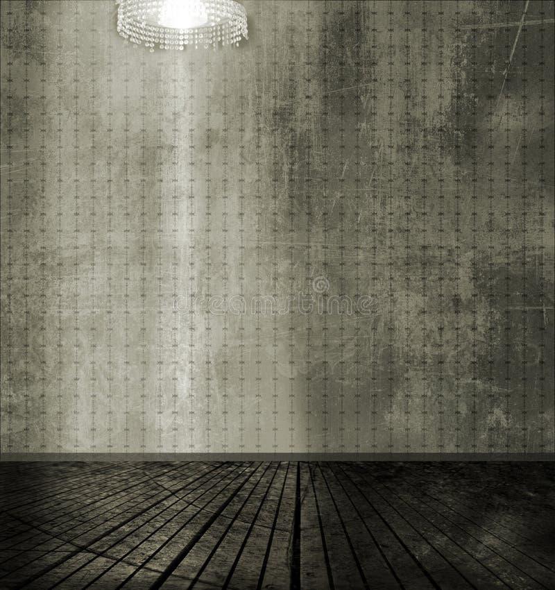 Ciemnego pokoju tło obraz stock