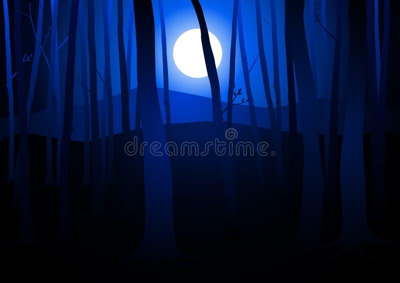 ciemni drewna ilustracja wektor