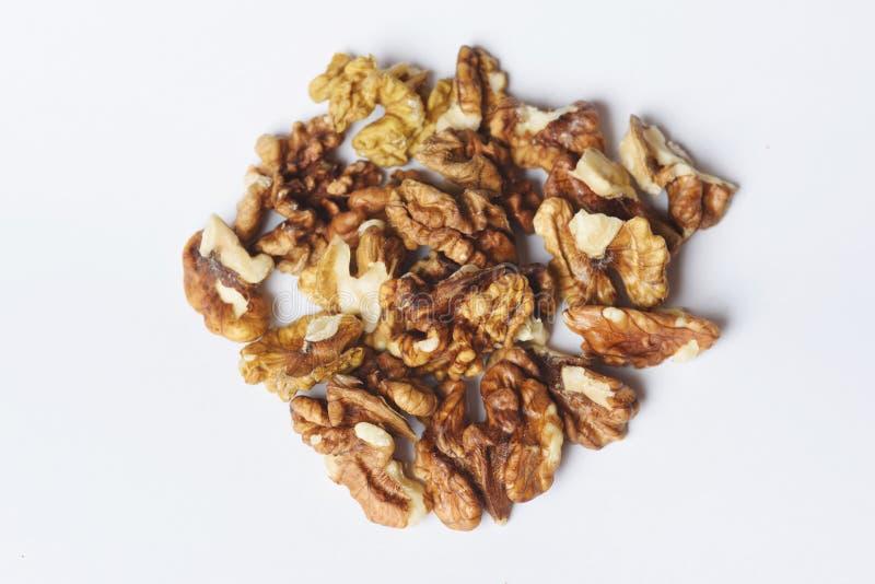 Ciemni Nutmeats zdjęcia royalty free