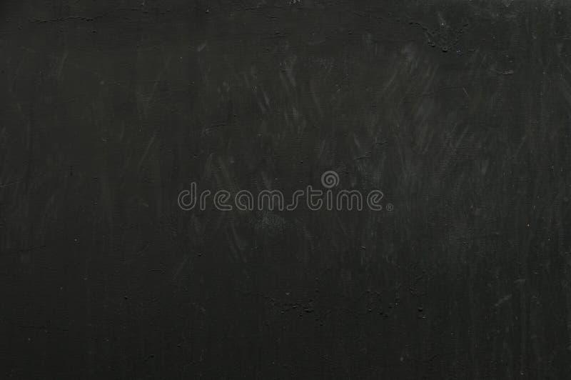 Ciemnoczarny, zarysowany, przerażający grung tła, stary efekt filmowy, zdegradowana tekstura z czarną ramką, przestrzeń na tekst  obrazy stock