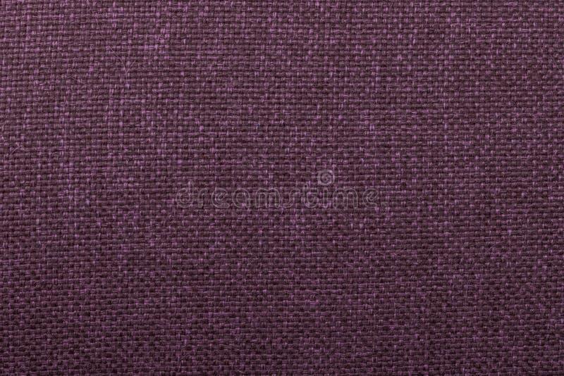 Ciemnopąsowej tkaniny tekstury trykotowy płótno zdjęcie stock